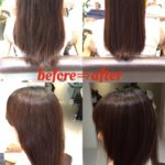 【技術解説編】髪質改善シリーズ 老け、品が無く見える原因を縮毛矯正で改善しました☆