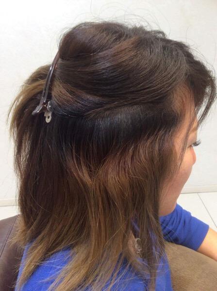 くせ毛でブリーチ毛の縮毛矯正。そして1年間での変化