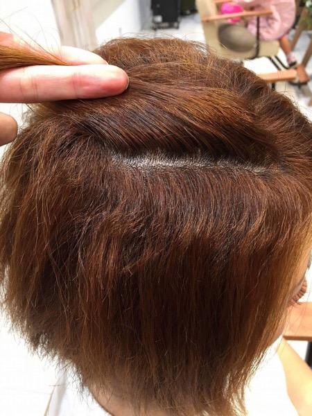 ブリーチ毛のくせ毛