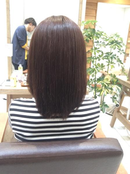 チリチリ、パサパサで広がるくせ毛の縮毛矯正