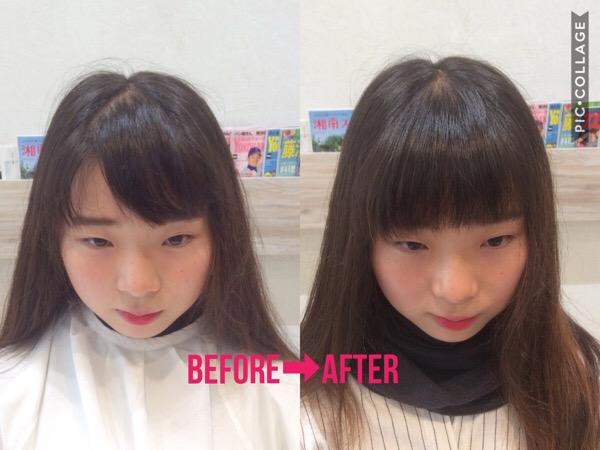 【たった1分!】割れる前髪を割れないように直す方法