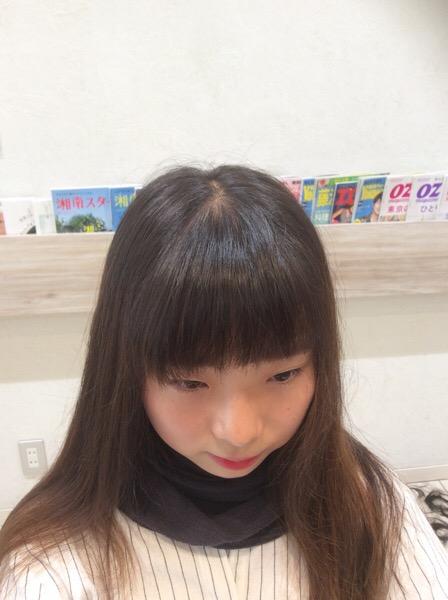 【たった1分!】割れる前髪を割れないように直す簡単な方法