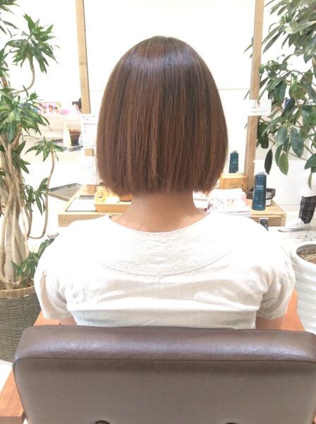 乾燥×うねりの強いくせ毛の縮毛矯正