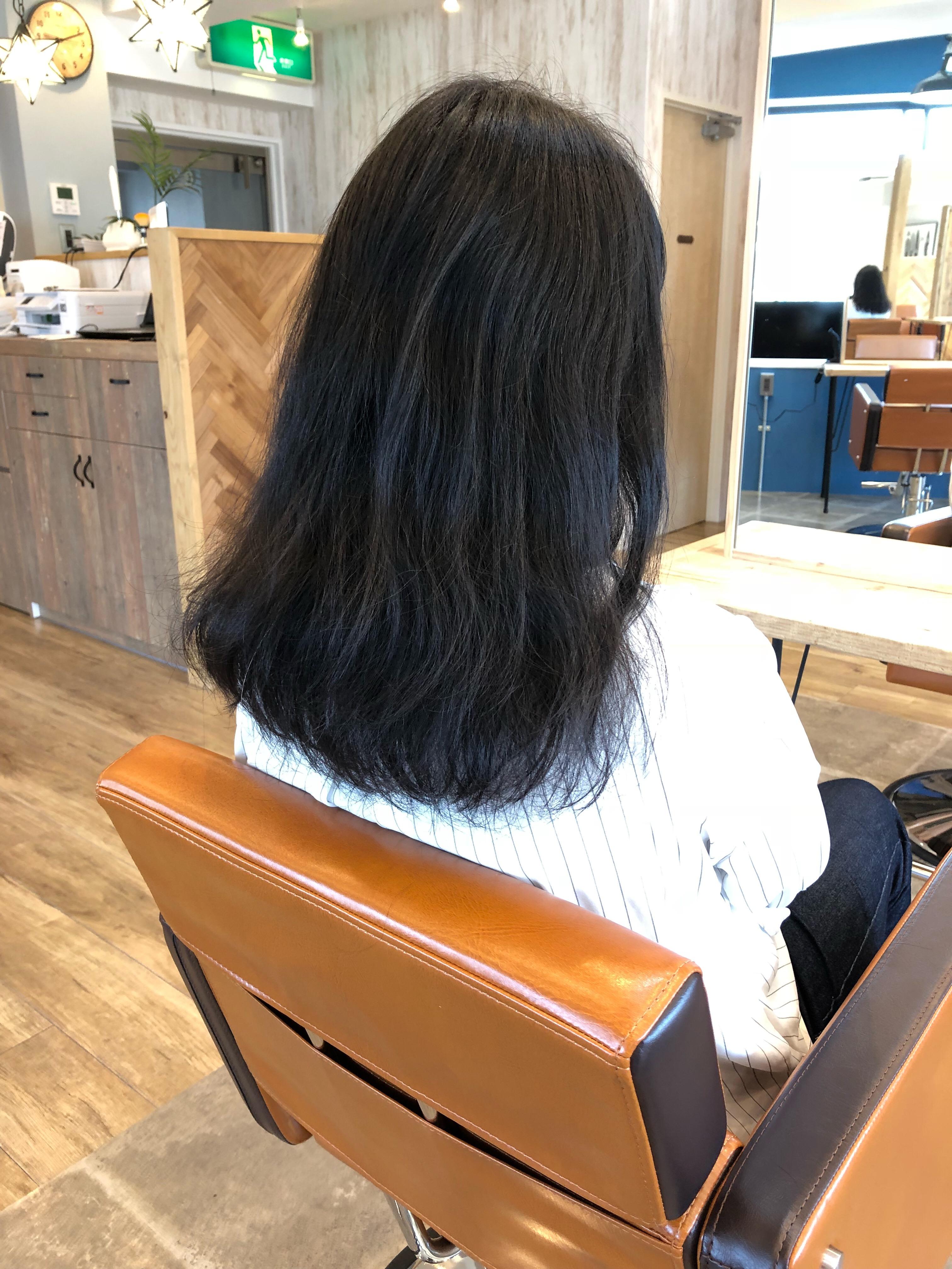 縮 毛 矯正 1カ月