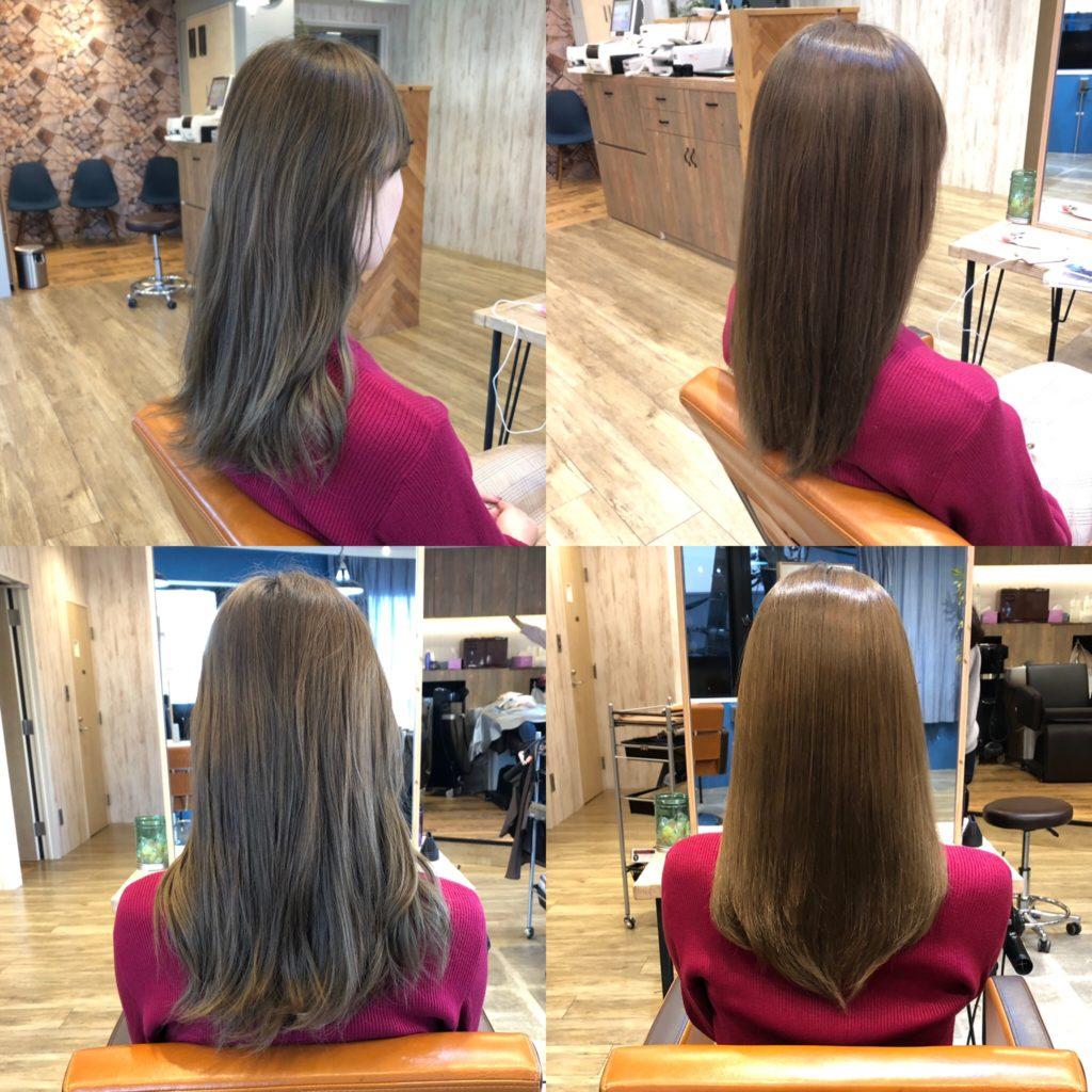 髪質改善トリートメント1